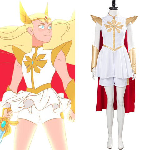 She-Ra - Princess of Power Halloween Carnival Costume She Ra Cosplay Costume Women Dress Outfit