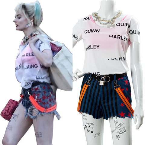 2020 Film Harley Quinn Birds of Prey Cosplay Costume