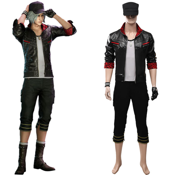 Final Fantasy VII Remake Halloween Carnival Costume Leslie Kyle Adult Men Outfit Cosplay Costume
