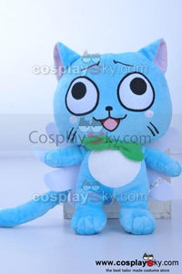 Fairy Tail Anime Happy Cat Doll Stuffed Toy Plush<FREE SHIPPING>