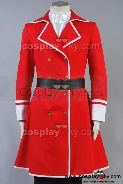 Fairy Tail Freed Justine Cosplay Costume Custom Made