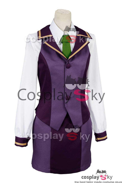 Fate Grand Order Protagonist Ritsuka Fujimaru School Girl Uniform Cosplay Costume