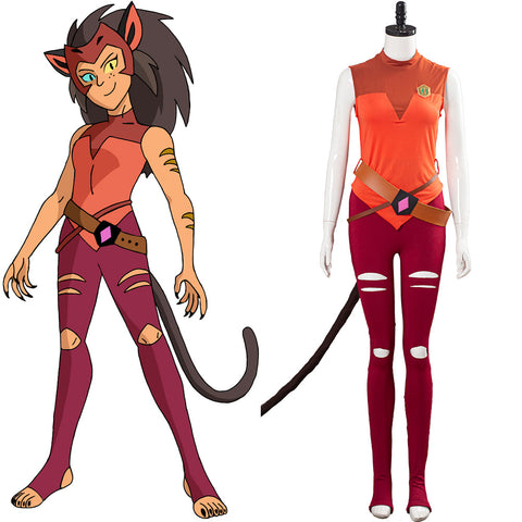 She-Ra - Princess of Power Halloween Carnival Costume Catra Cosplay Costume Women Uniform Outfits
