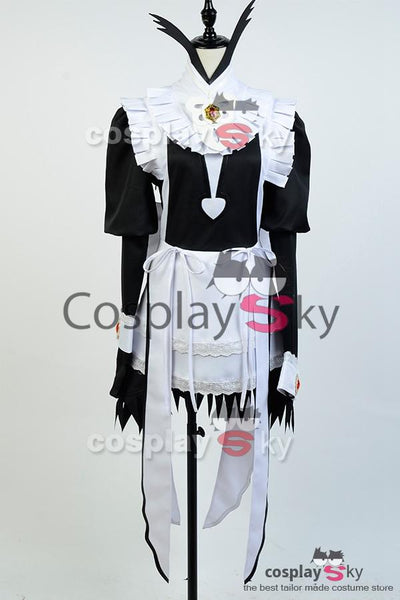 Fire Emblem Fates Flora Maid Dress Copslay Costume