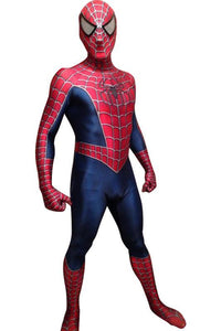 Raimi Spider-Man Peter Parker Jumpsuit Bodysuit Superhero cosplay Costume Males Females