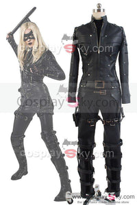 Green Arrow Season 3 Black Canary Laurel Lance Outfit Cosplay Costume