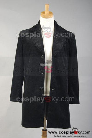 Guy Ritchie 2009 Sherlock Holmes Coat Jacket Costume Black Version