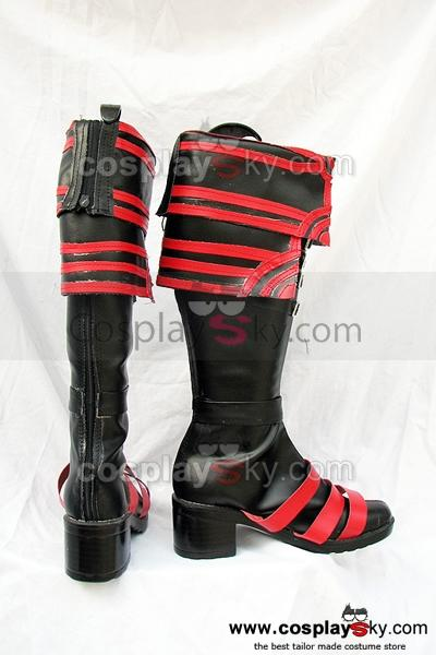 Hack G.U Cosplay Boots Shoes Custom Made