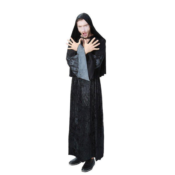 Halloween Dark Father Evil Demon Adult Dress Cosplay Costume
