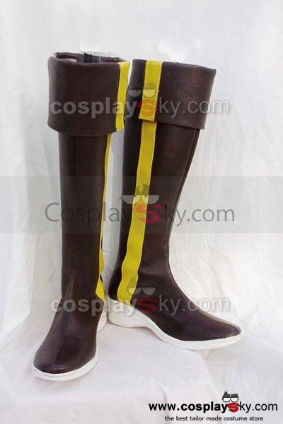 It's a Wonderful World Misaki Shiki Cosplay Boots Custom Made