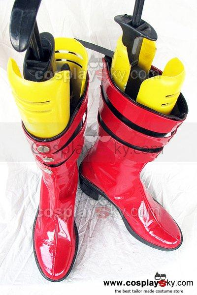 Kamen Rider Naomi Cosplay Shoes Custom Made