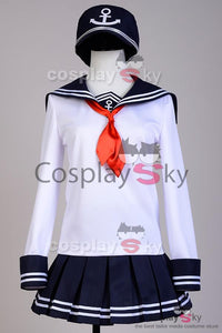 Kantai Collection Fleet Girls Akatsuki Sailor Cosplay Costume