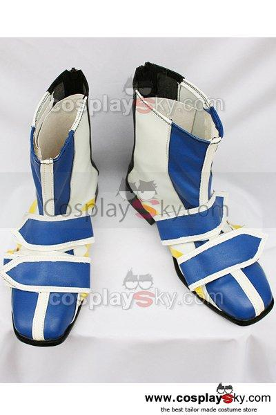 Kingdom Hearts Riku Cosplay Boots Shoes Custom Made