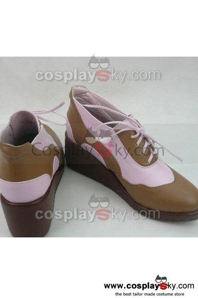 Little Busters Rin Natsume Cosplay Boots Shoes