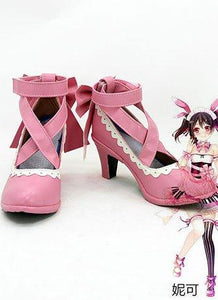 LoveLive! Valentine's Day Nico Yazawa Cosplay Shoes