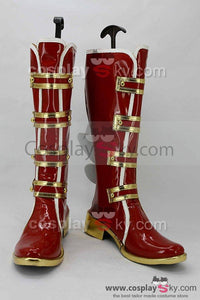LoveLive! Valentine's Day Rin Hoshizora Boots Cosplay Shoes