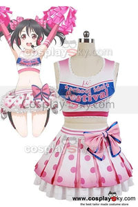 LoveLive! Yazawa Niko Cheerleaders Uniform Cosplay Costume