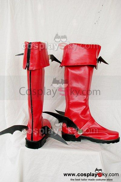 Mabinogi Male succubus Cosplay Boots Shoes Custom Made