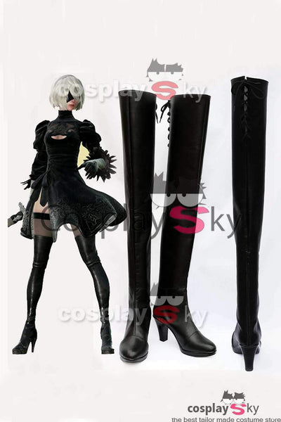 NieR/ Nier: Automata 2B Boots Cosplay Shoes
