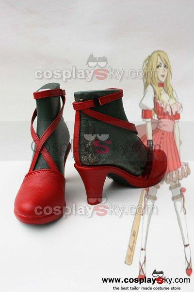 No More Hero Desperate Struggle Bad Girl  Cosplay Shoes Boots