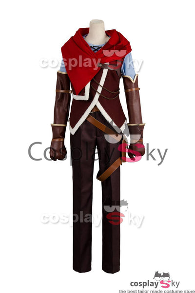 No Game NO Life Zero Riku Outfit Cosplay Costume