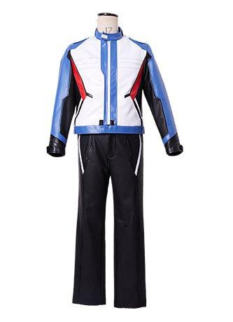 Overwatch Soldier 76 Bio Jack Morrison Jacket+Gloves Cosplay Costume