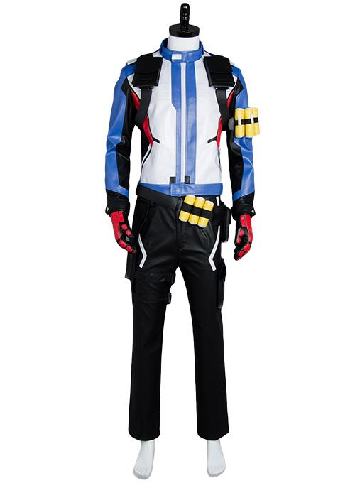 Overwatch Soldier 76 Bio Jack Morrison Uniform Cosplay Costume