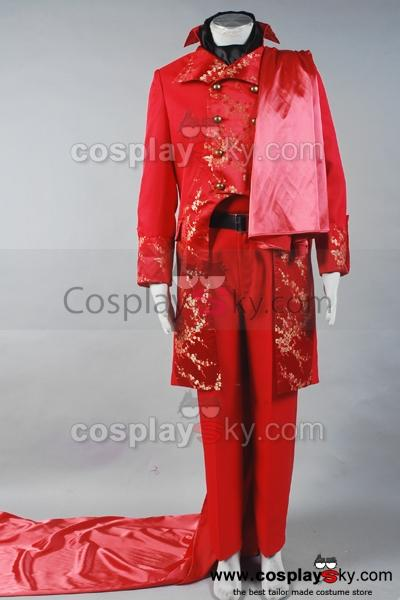 Phantom of the Opera Masquerade Costume Halloween Fancy Suit