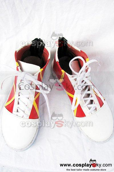 Pokemon Cosplay Boots Shoes Red Custom-Made