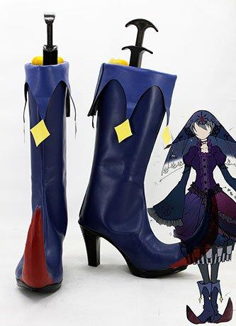 Puella Magi Madoka Magica Walpurgis Night Boots Cosplay Shoes