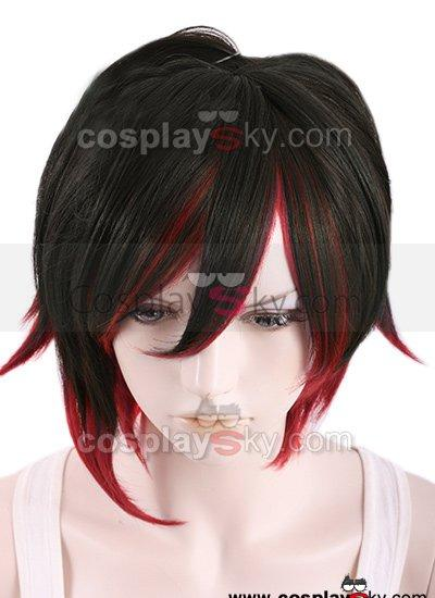 RWBY Red Trailer Ruby Cosplay Wig