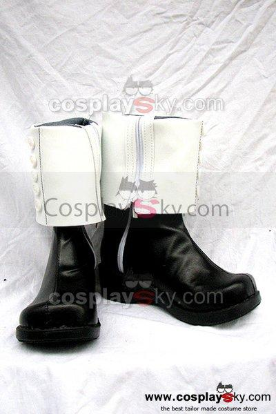Soul Eater Crona Cosplay Boots Shoes Black and White
