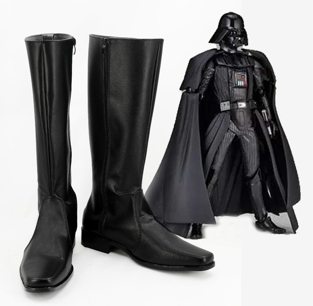 Star Wars Darth Vader Boots Cosplay Shoes