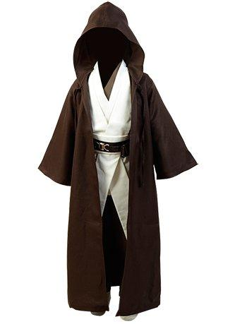 Star Wars Kenobi Jedi Cosplay Costume Child Version