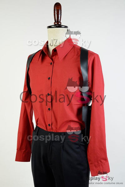 Suicide Squad Jared Leto Batman Joker Suit Cosplay Costume