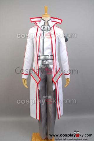 Sword Art Online Knights of the Blood Kazuto Kirigaya Cosplay Costume