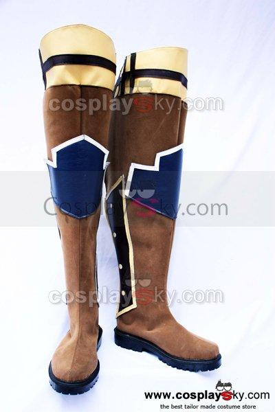 Tales of Symphonia Astor Cosplay Boots Custom Made