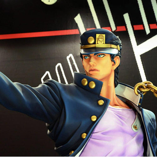 JoJo?s Bizarre Adventure Kuujou Joutaro Limit Adjustable Cap Unisex Baseball + Free Badge