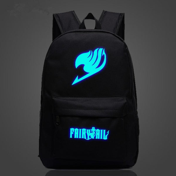 Fairy Tail Natsu Magic Guild luminous Logo  SchoolBag Backpack