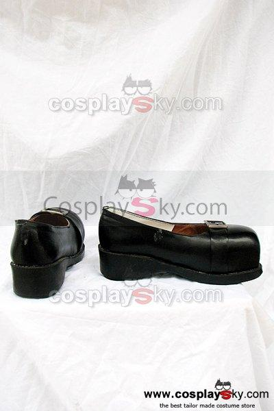 The Adventures of Pinocchio Black Cosplay Shoes