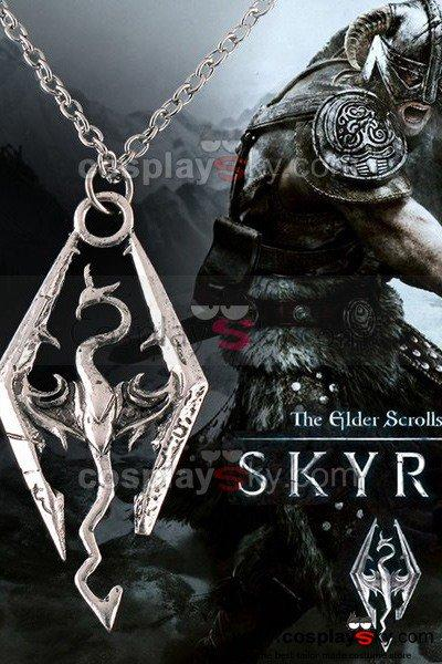 The Elder Scrolls V: Skyrim Cosplay Necklace Pendant
