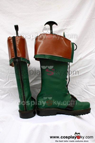 The Legend of Heroes: Trails in the Sky Agate Crosner Cosplay Boots