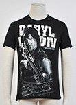 The Walking Dead Daryl Dixon Black T-Shirt Short Sleeve Tee