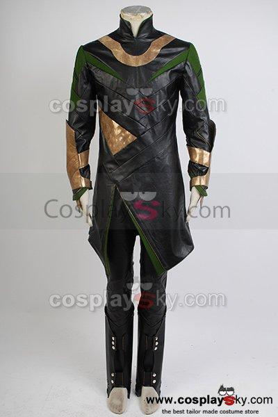 Thor The Dark World Loki Whole Set Cosplay Costume