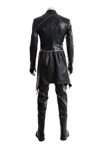 TV Inhumans Black Bolt Blackagar Boltagon Outfit Cosplay Costume