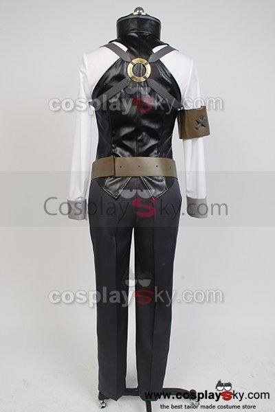 Unbreakable Machine-Doll Raishin Akabane Cosplay Costume