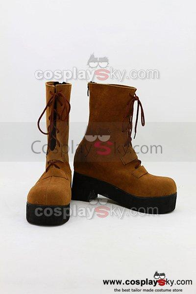 Unbreakable Machine-Doll Yaya Cosplay Boots Shoes