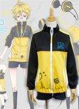 Vocaloid Len Project DIVA Sport Suit Cosplay Costume