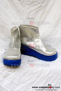 Vocaloid Yowane Haku Cosplay Boots Silver Custom-Made