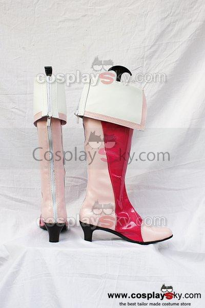 Smile Precure!  Pretty Cure Cosplay Boots Shoes Pink